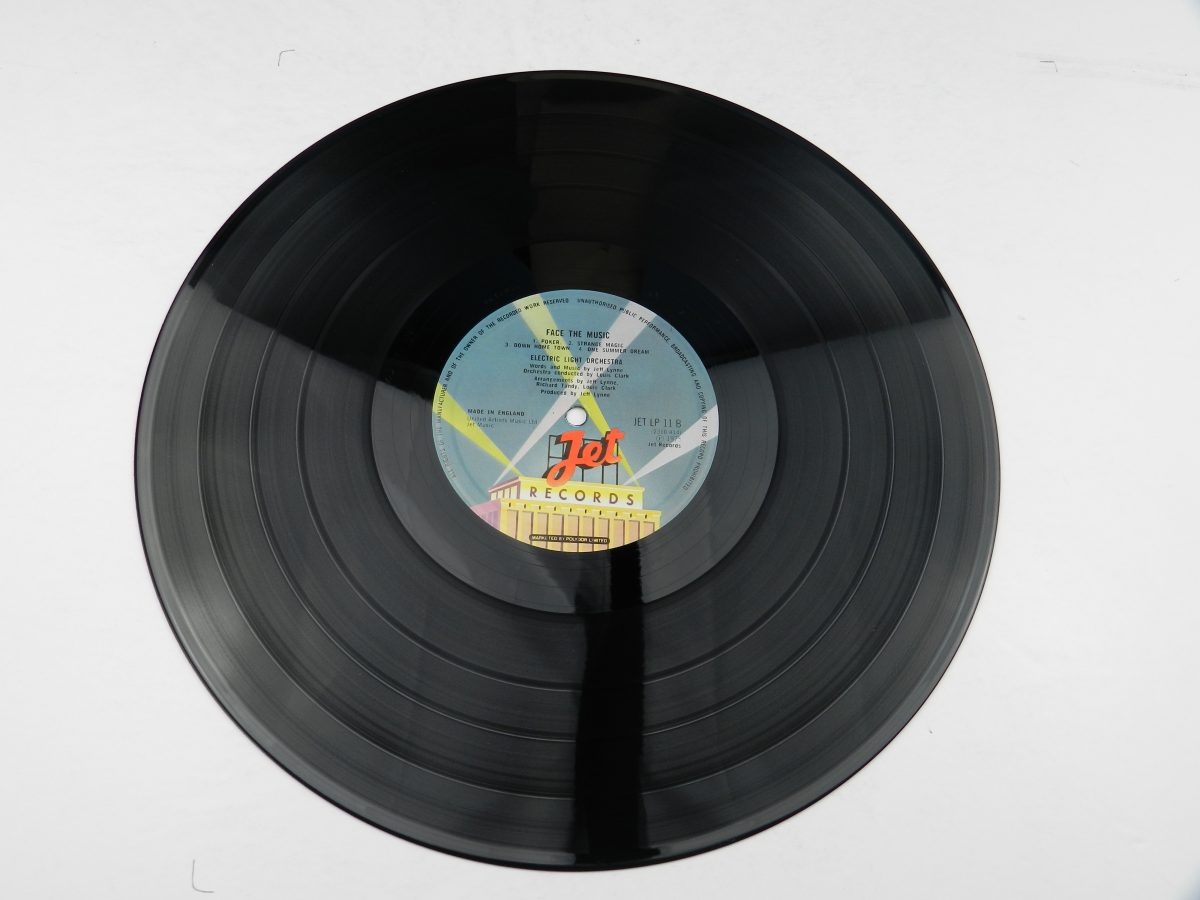 Electric Light Orchestra – Face The Music vinyl record side B scaled