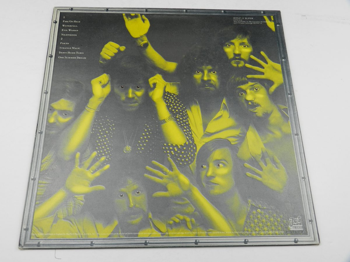 Electric Light Orchestra – Face The Music vinyl record sleeve rear scaled