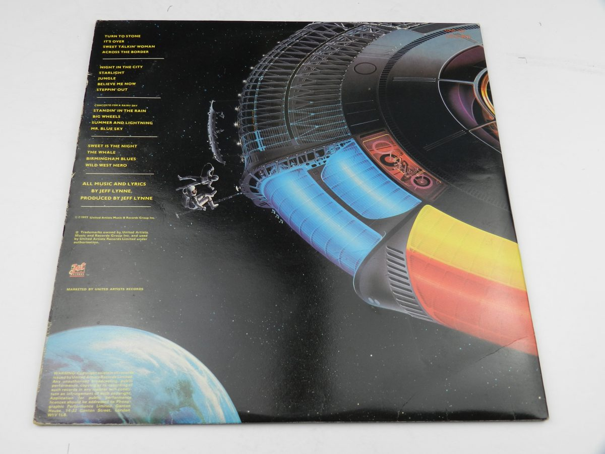 Electric Light Orchestra – Out Of The Blue vinyl record sleeve rear scaled