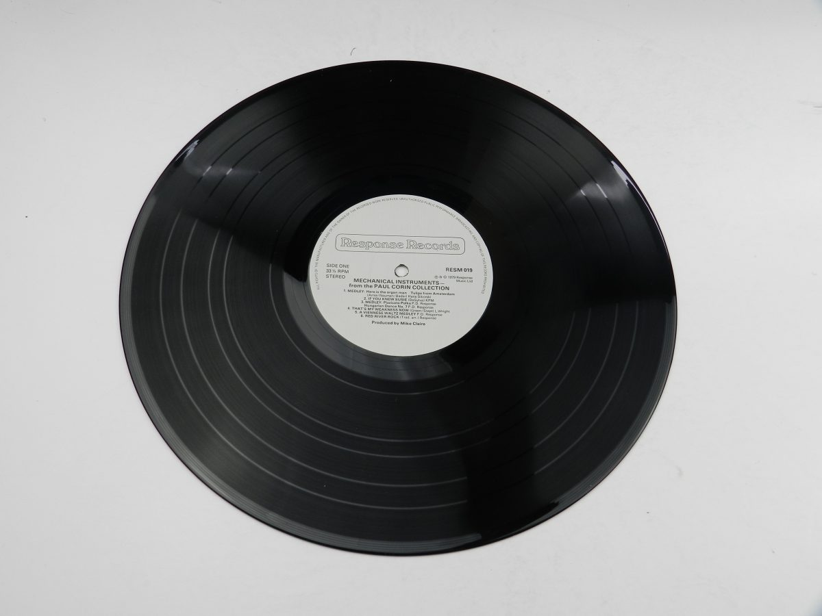 Various – Mechanical Instruments vinyl record side A scaled