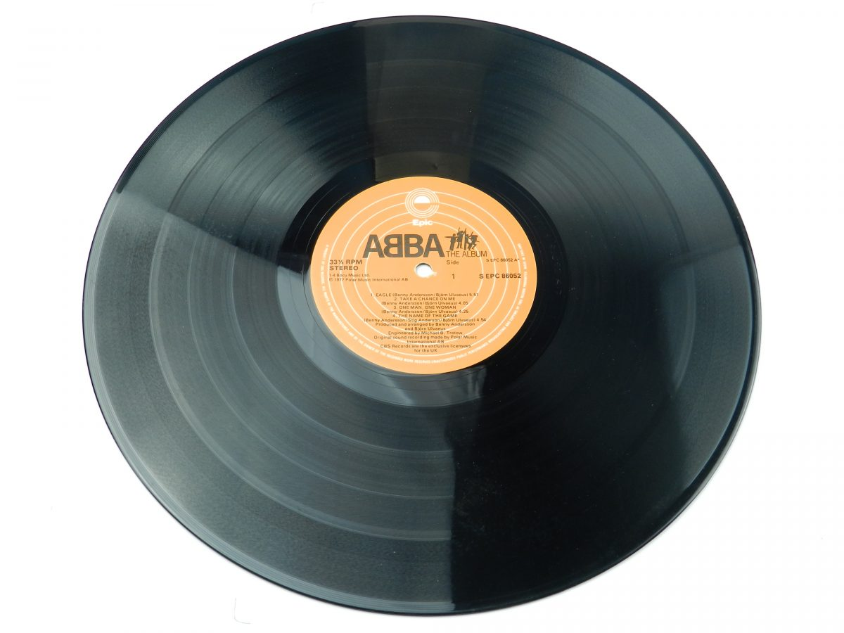 ABBA – The Album vinyl record side A 1 scaled