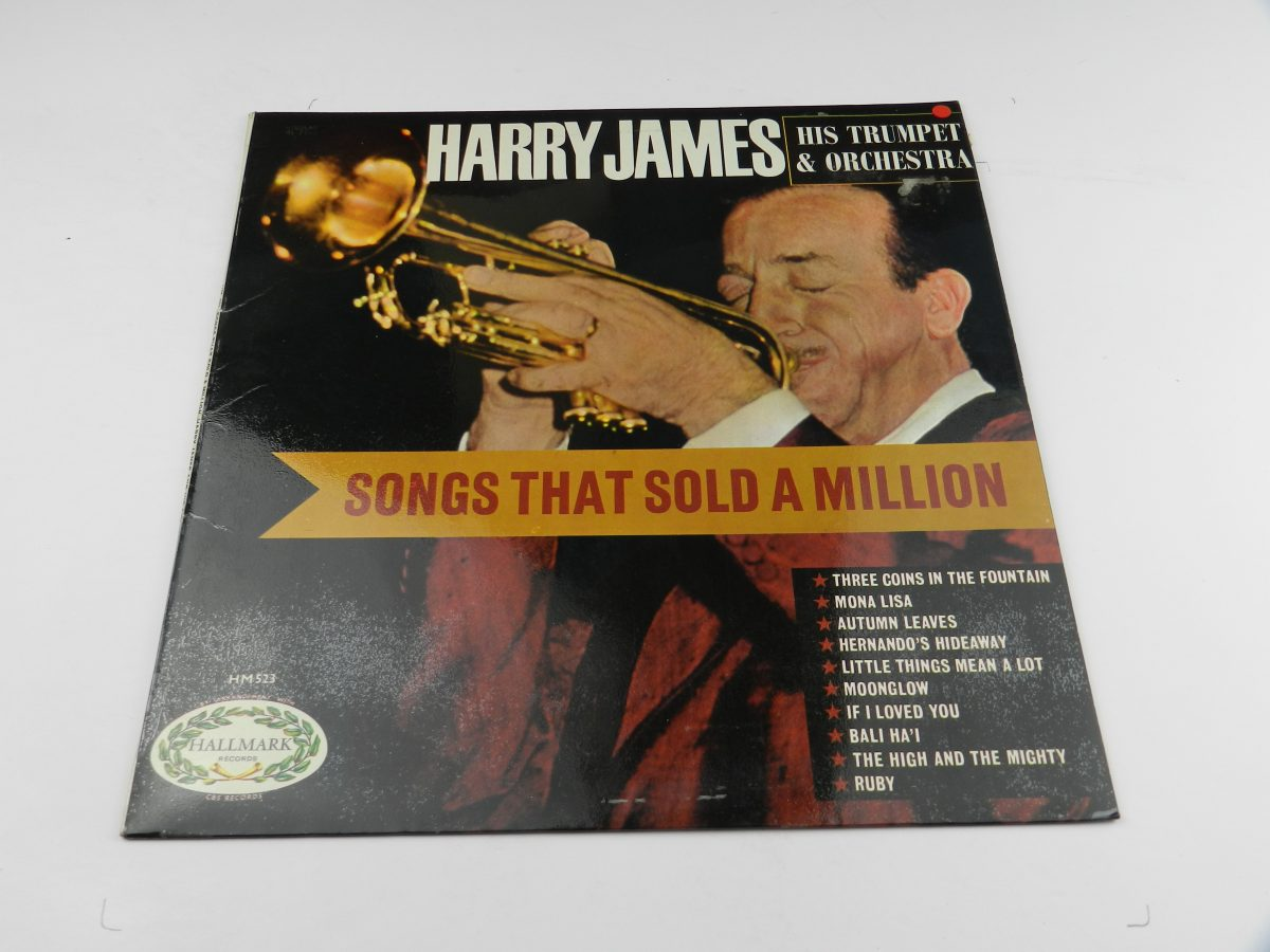 Harry James And His Orchestra – Songs That Sold A Million vinyl record sleeve scaled