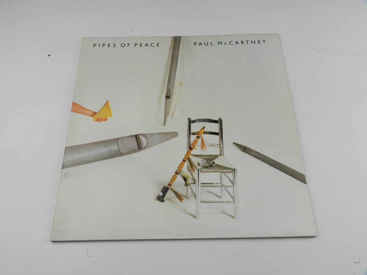Paul McCartney – Pipes Of Peace vinyl record sleeve scaled