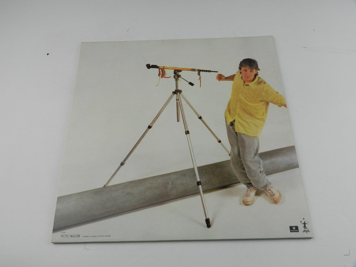 Paul McCartney – Pipes Of Peace vinyl record sleeve rear scaled