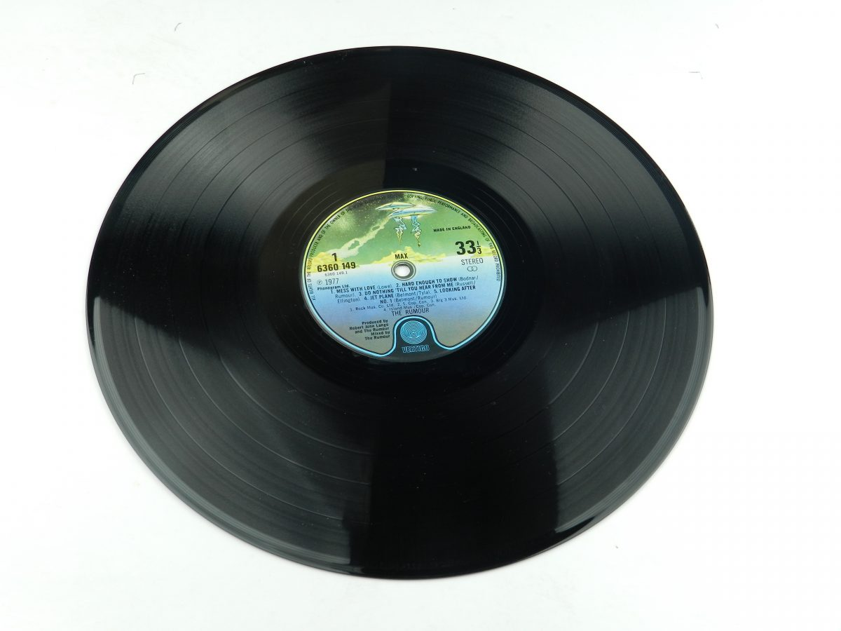 The Rumour – Max vinyl record side A scaled