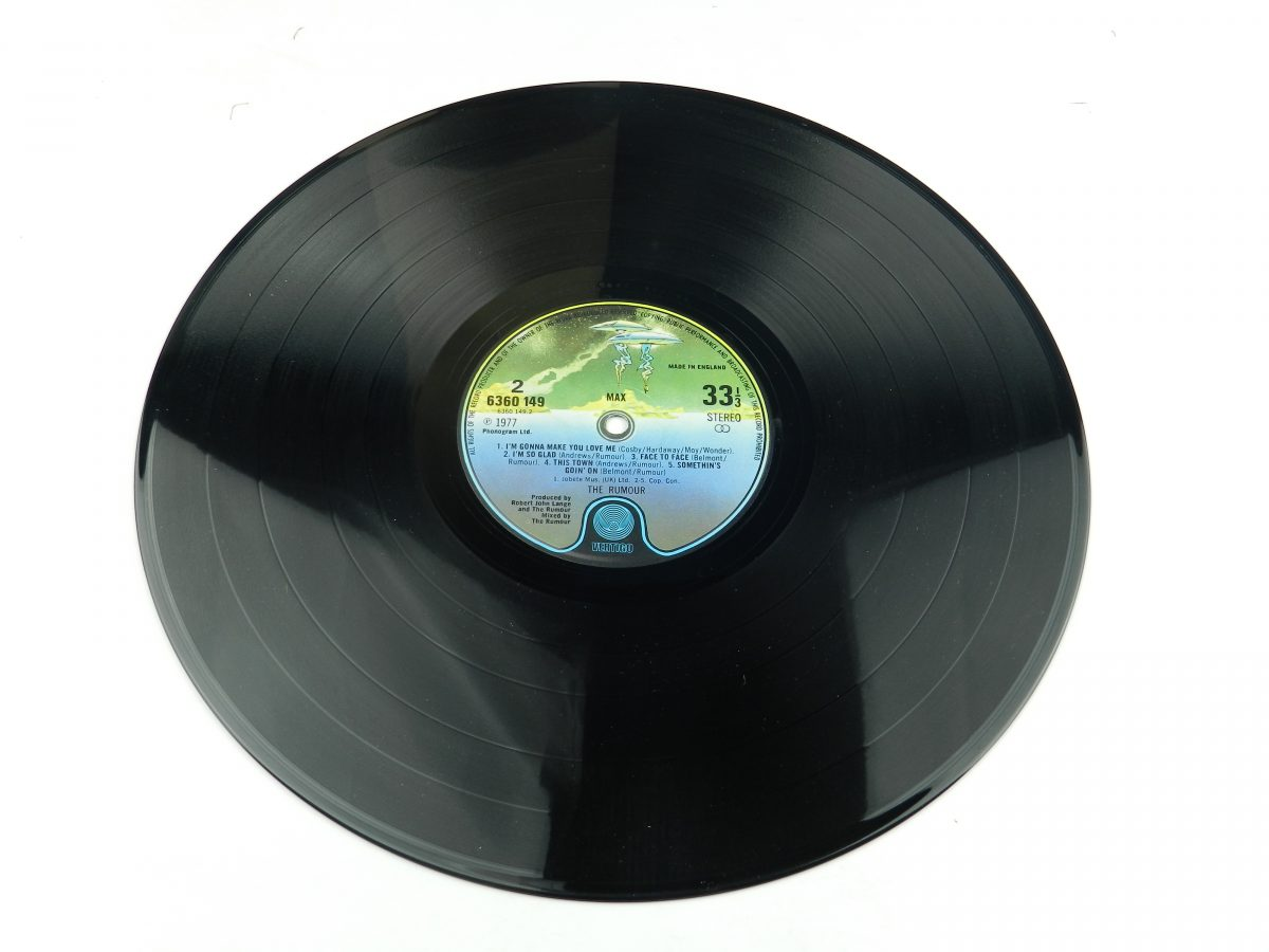 The Rumour – Max vinyl record side B scaled