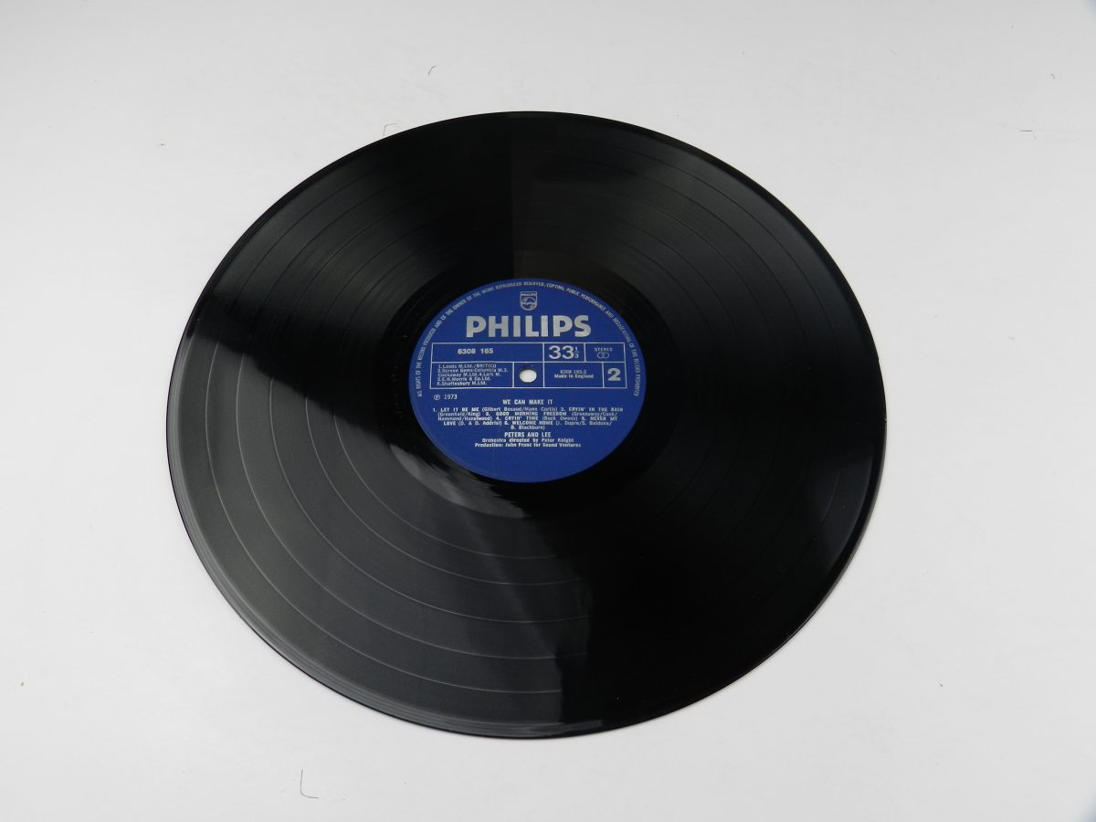 Peters Lee – We Can Make It vinyl record side B scaled