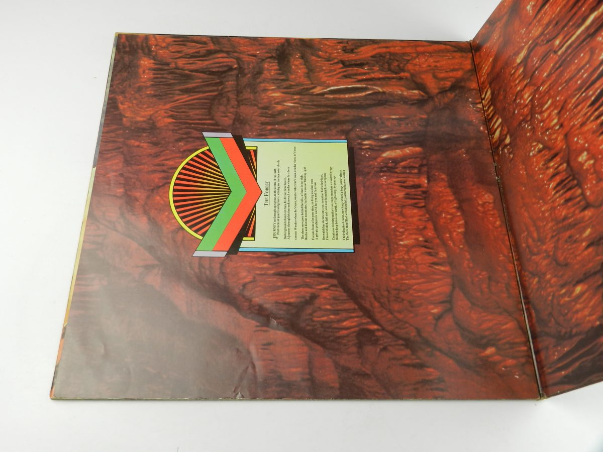 Rick Wakeman – Journey To The Centre Of The Earth vinyl record sleeve gatefold 1 scaled