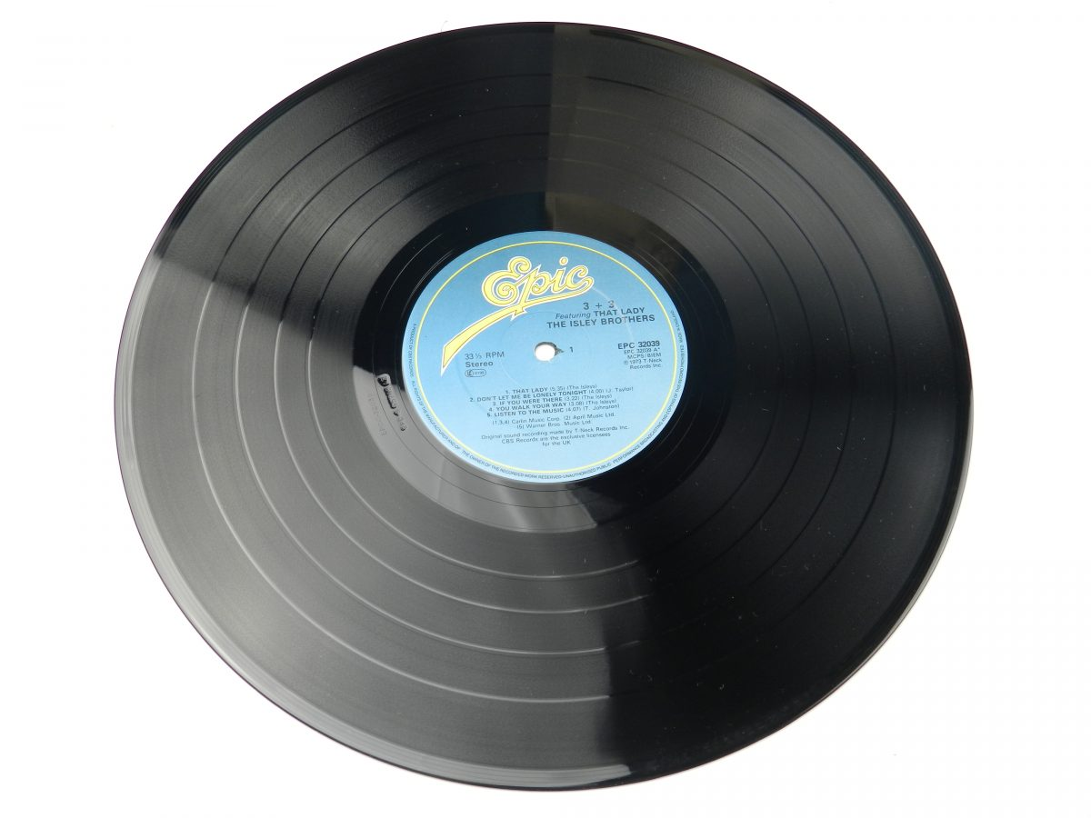 The Isley Brothers – 3 3 vinyl record side A scaled