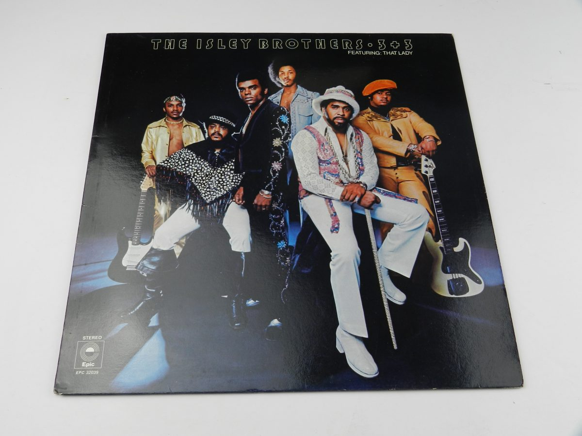 The Isley Brothers – 3 3 vinyl record sleeve scaled