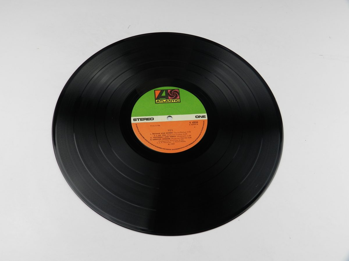 Yes – Yes vinyl record side A
