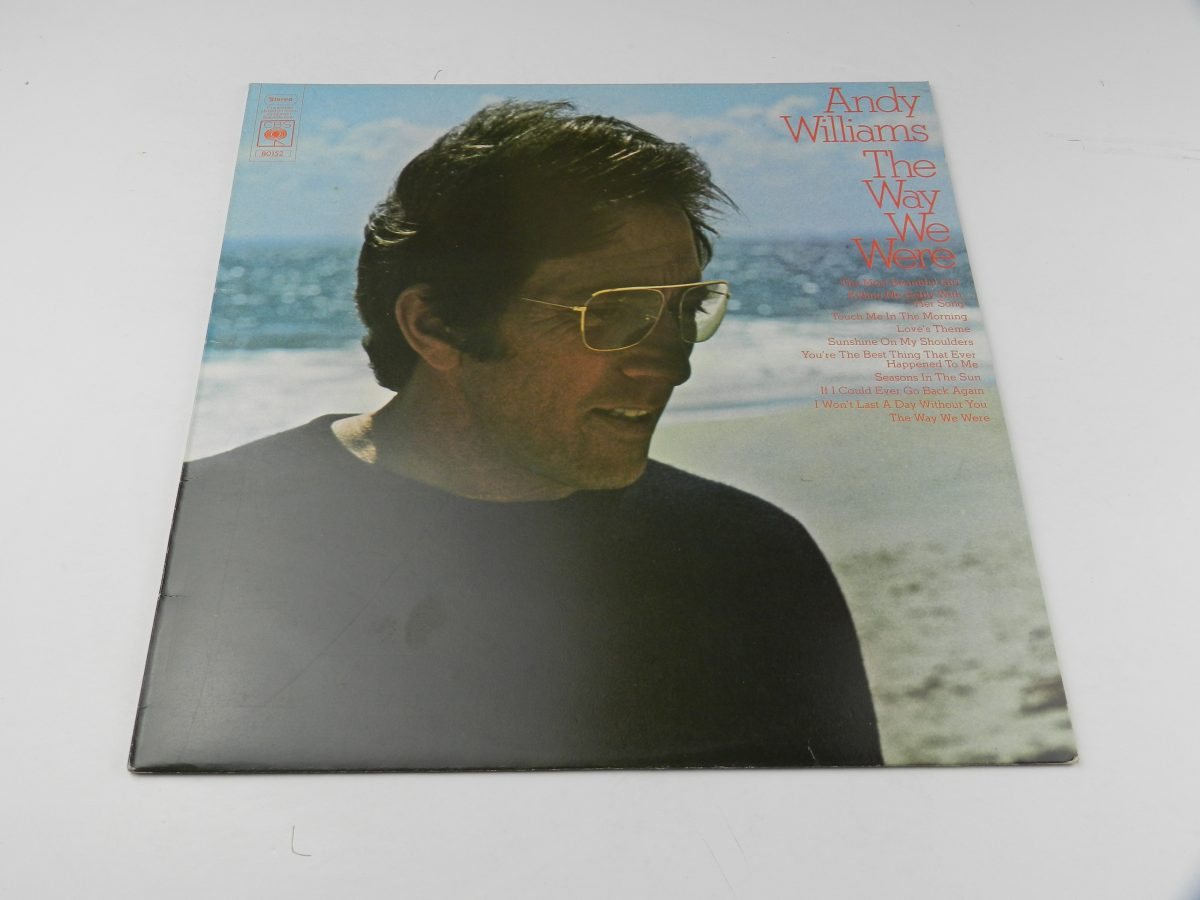 Andy Williams – The Way We Were vinyl record sleeve