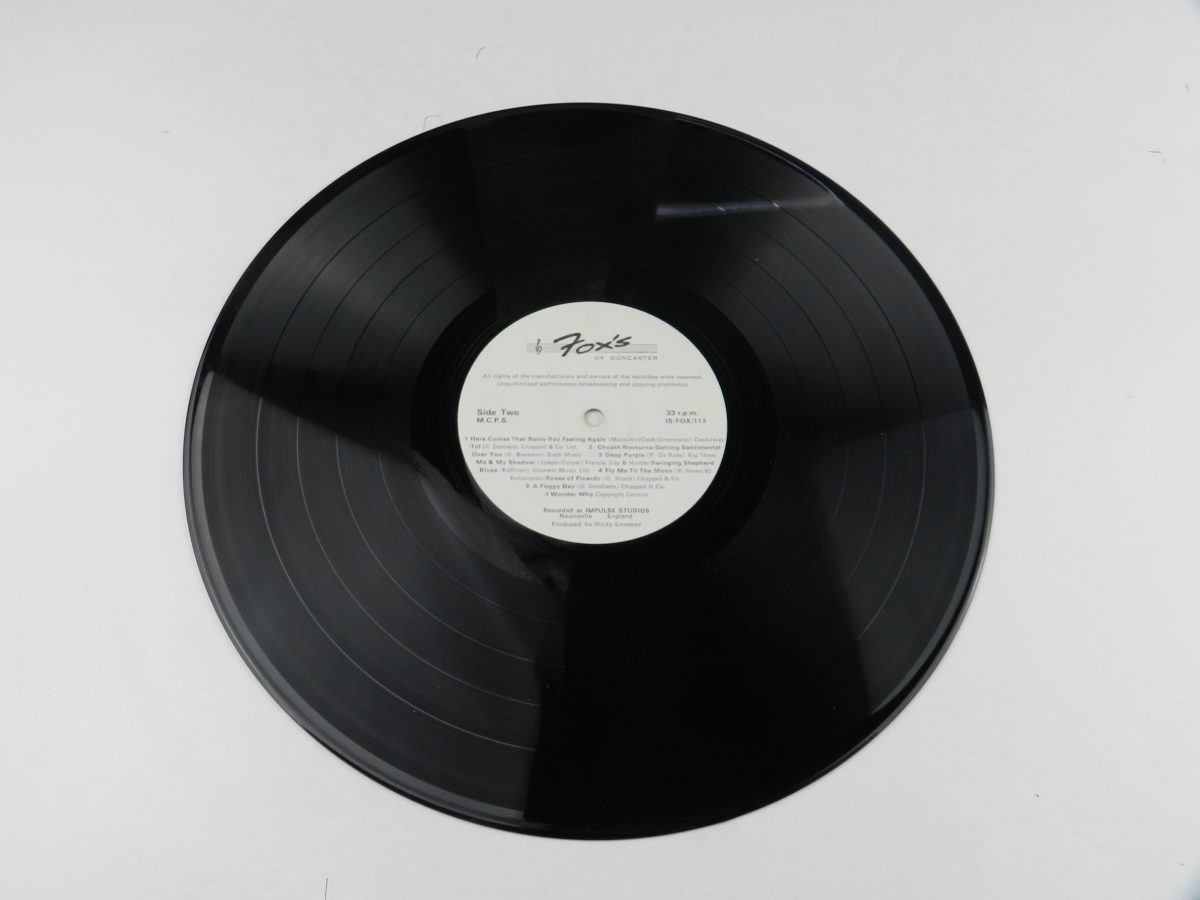 Various – The Best Of Us vinyl record side B