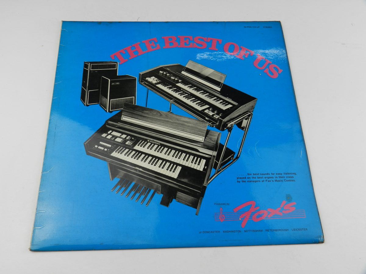Various – The Best Of Us vinyl record sleeve