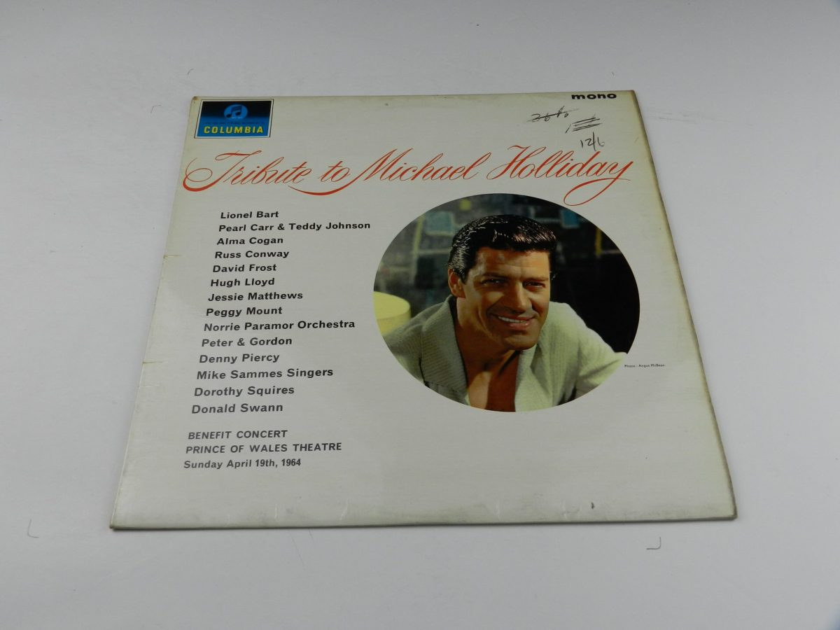 Various – Tribute To Michael Holliday vinyl record sleeve