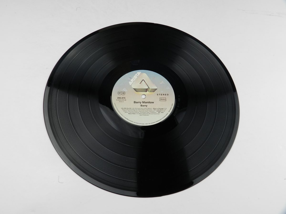 Barry Manilow – Barry vinyl record side B scaled