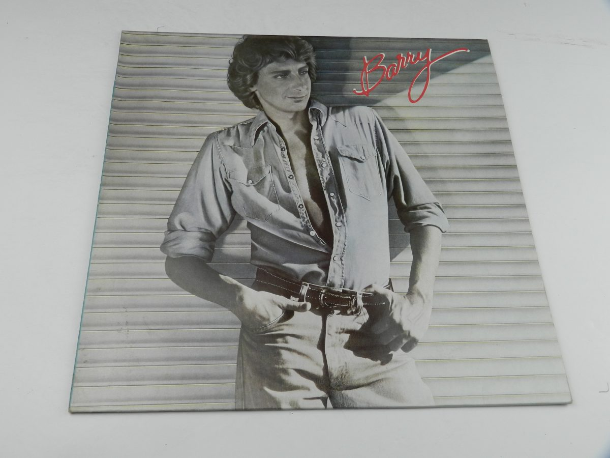 Barry Manilow – Barry vinyl record sleeve scaled