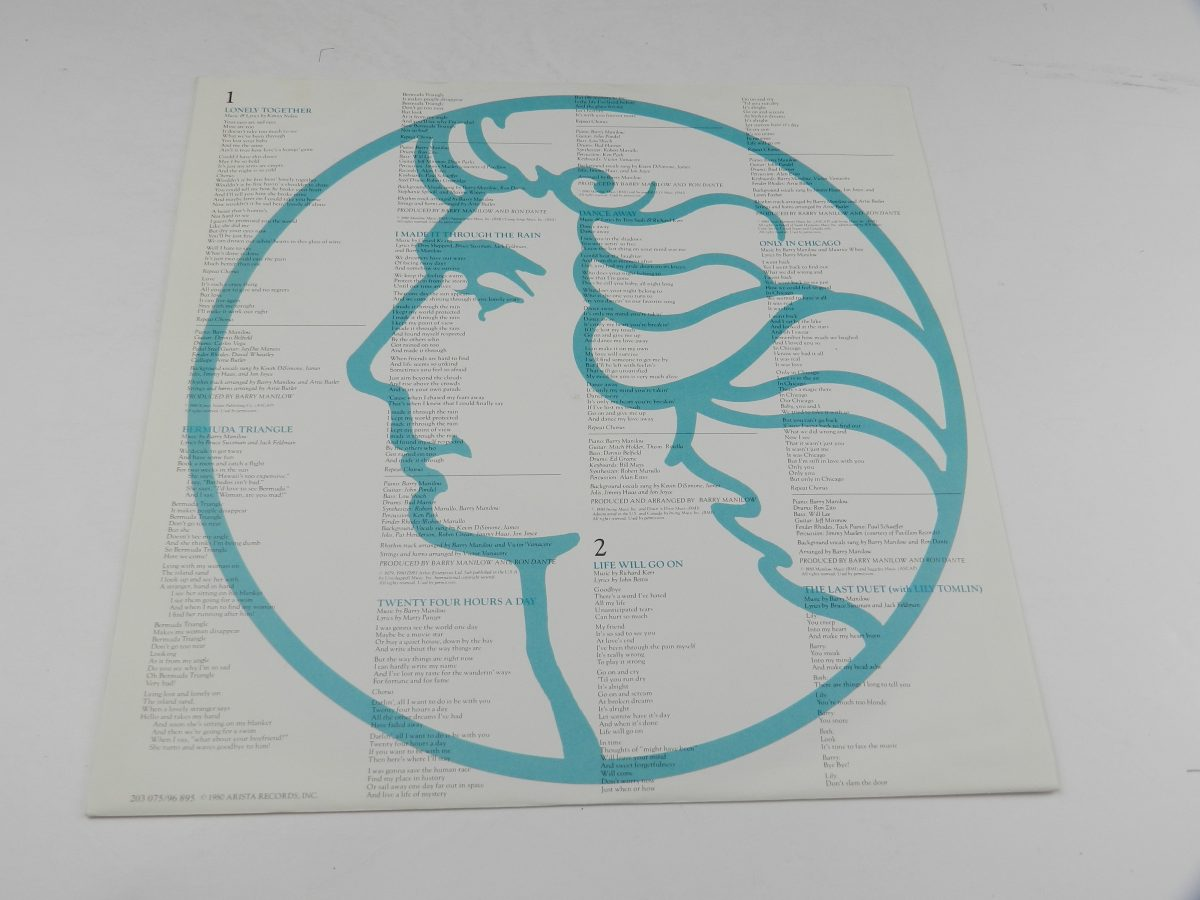 Barry Manilow – Barry vinyl record sleeve inner 1 scaled