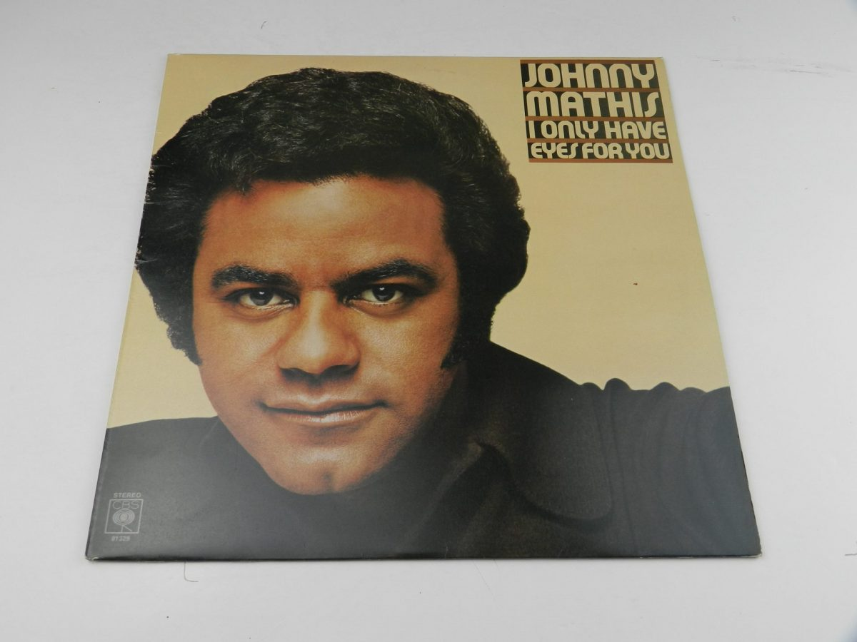 Johnny Mathis – I Only Have Eyes For You vinyl record sleeve