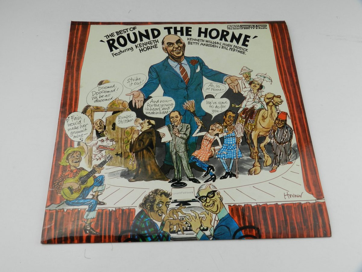 Round The Horne Featuring Kenneth Horne – The Best Of Round The Horne vinyl record sleeve