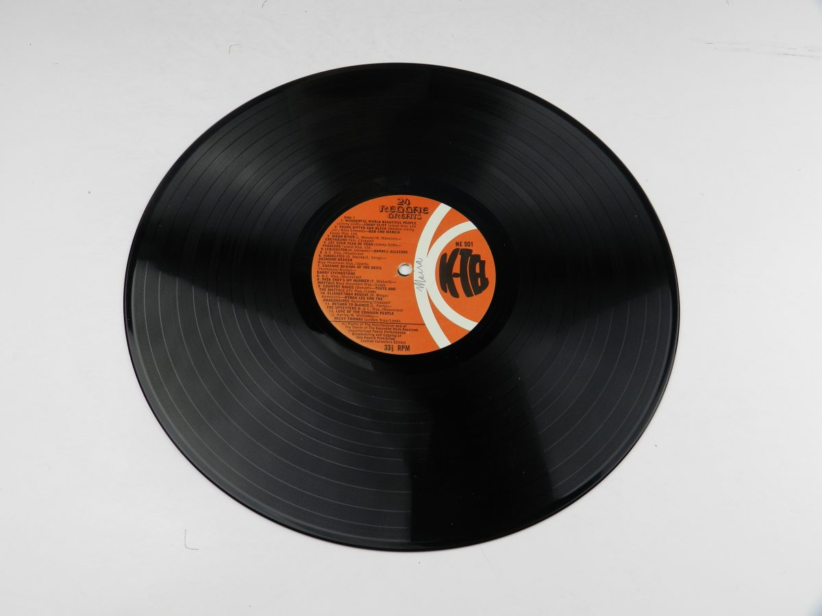 Various – 24 Reggae Greats vinyl record side A scaled