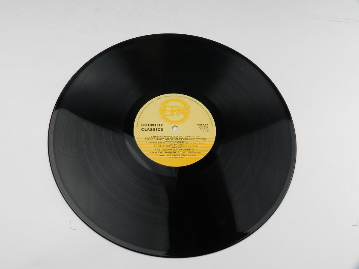 Various – Country Classics vinyl record side B scaled