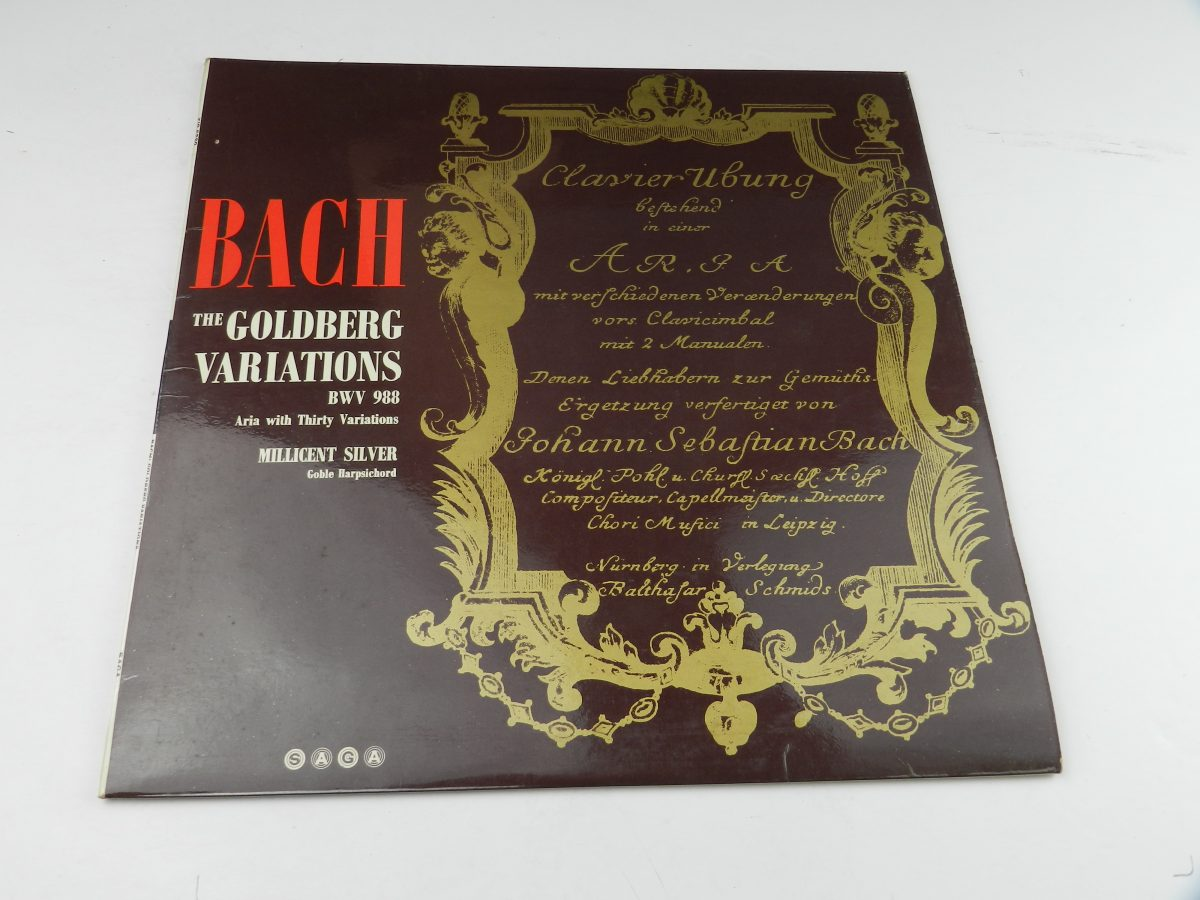 Bach Millicent Silver – The Goldberg Variations vinyl record sleeve scaled