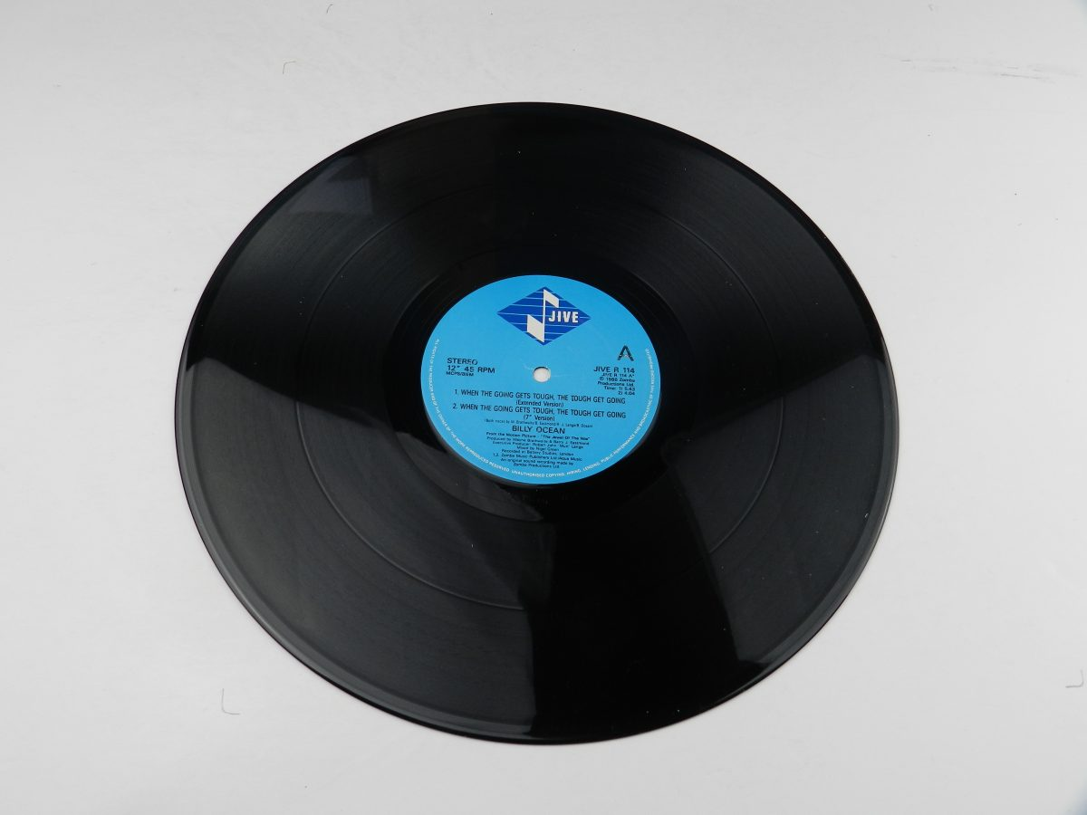 Billy Ocean – When The Going Gets Tough The Tough Get Going Mystery Lady vinyl record 2 side A scaled