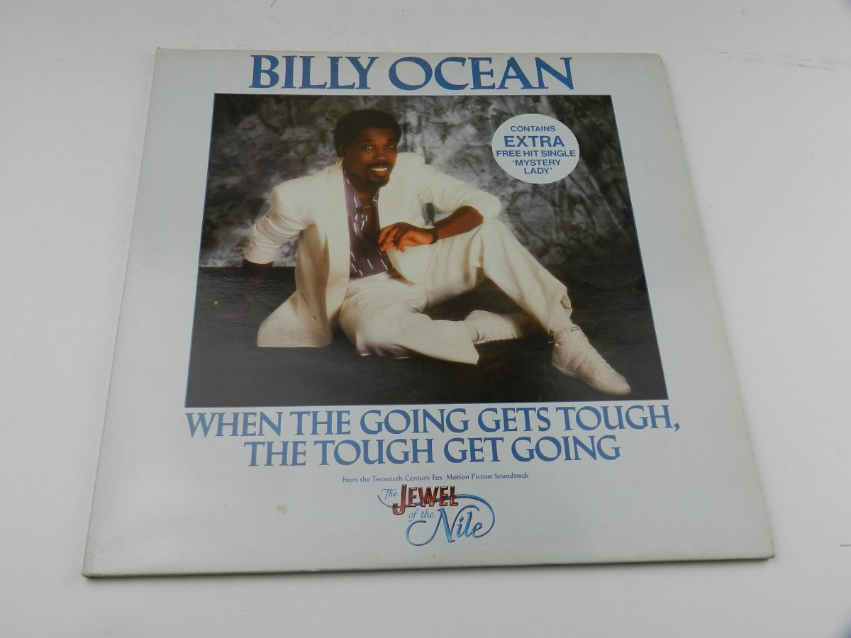 Billy Ocean – When The Going Gets Tough The Tough Get Going Mystery Lady vinyl record sleeve scaled