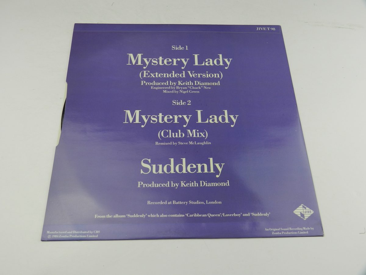 Billy Ocean – When The Going Gets Tough The Tough Get Going Mystery Lady vinyl record sleeve inner 2 scaled
