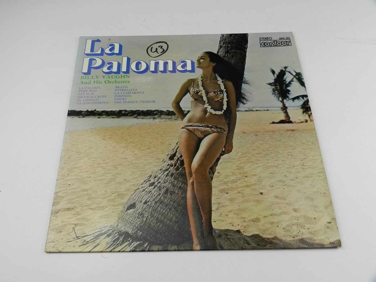 Billy Vaughn And His Orchestra – La Paloma vinyl record sleeve scaled
