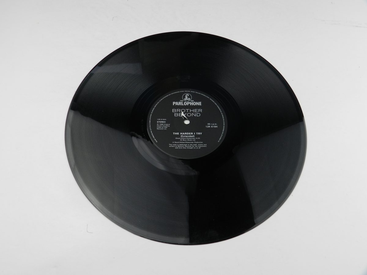 Brother Beyond – The Harder I Try vinyl record side A scaled
