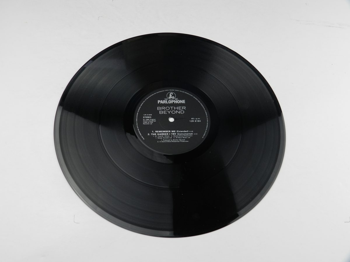 Brother Beyond – The Harder I Try vinyl record side B scaled