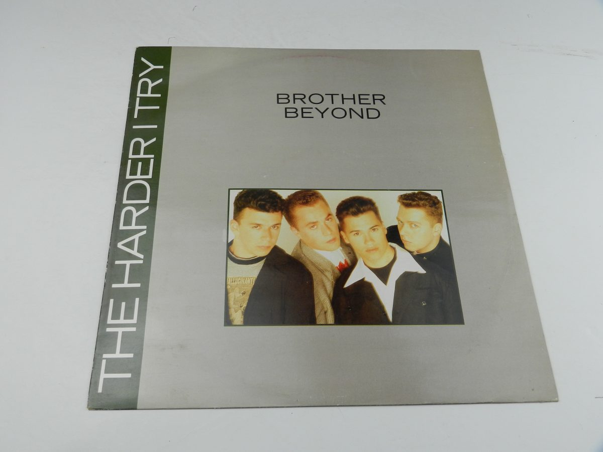 Brother Beyond – The Harder I Try vinyl record sleeve scaled