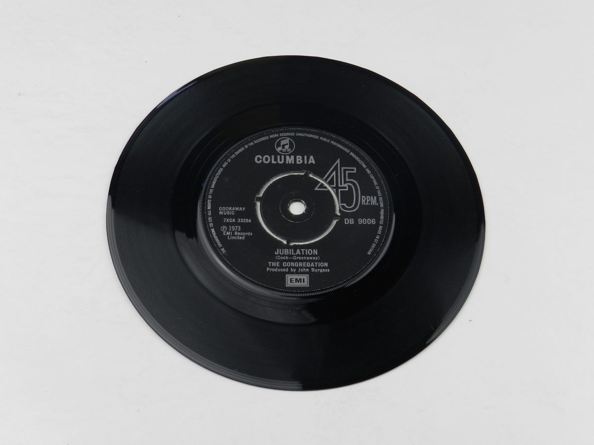 Congregation – Jubilation vinyl record side A scaled