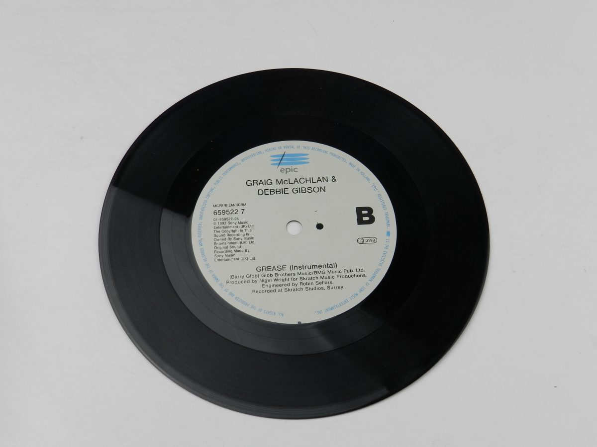 Craig McLachlan Debbie Gibson – Youre The One That I Want vinyl record side AB scaled