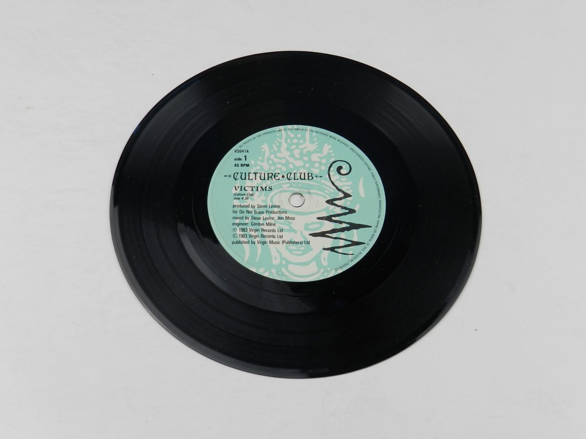 Culture Club – Victims vinyl record side A scaled