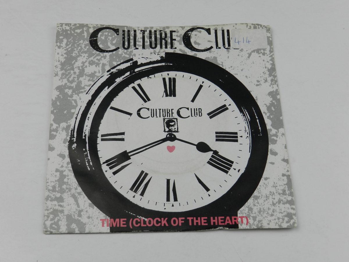 Culture Club – Time Clock Of The Heart vinyl record sleeve scaled