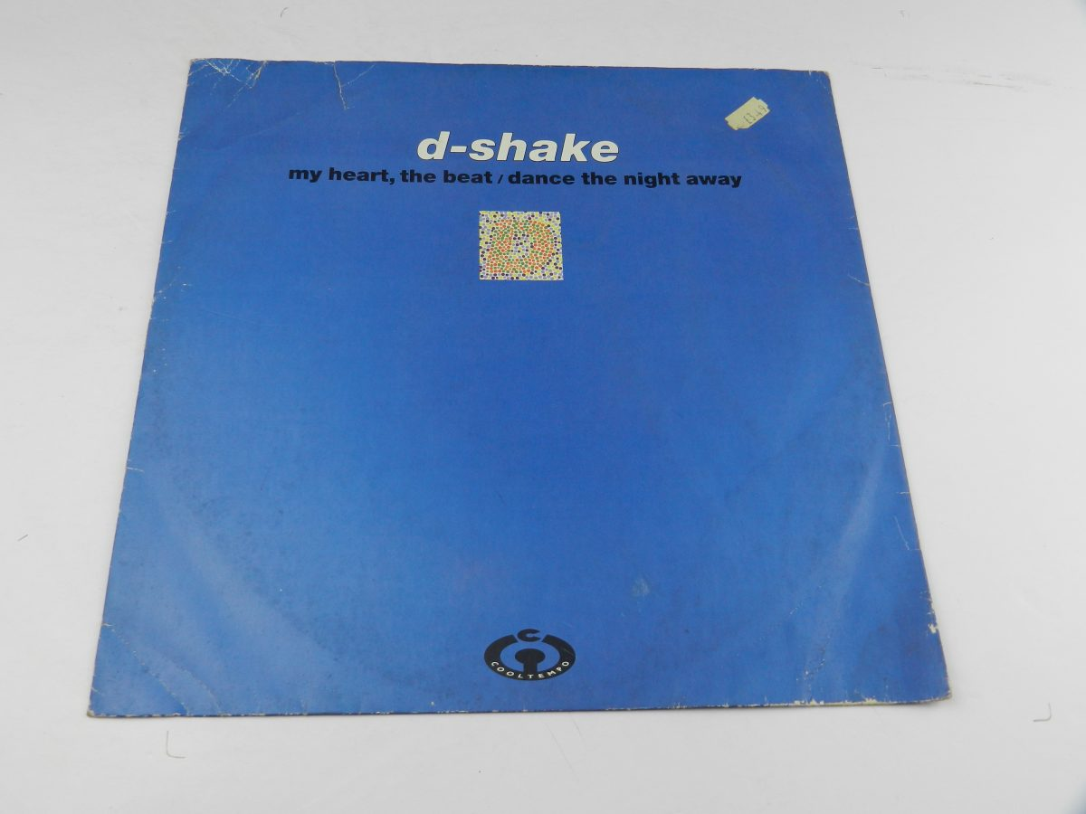 D Shake – My Heart The Beat Dance The Night Away vinyl record sleeve scaled