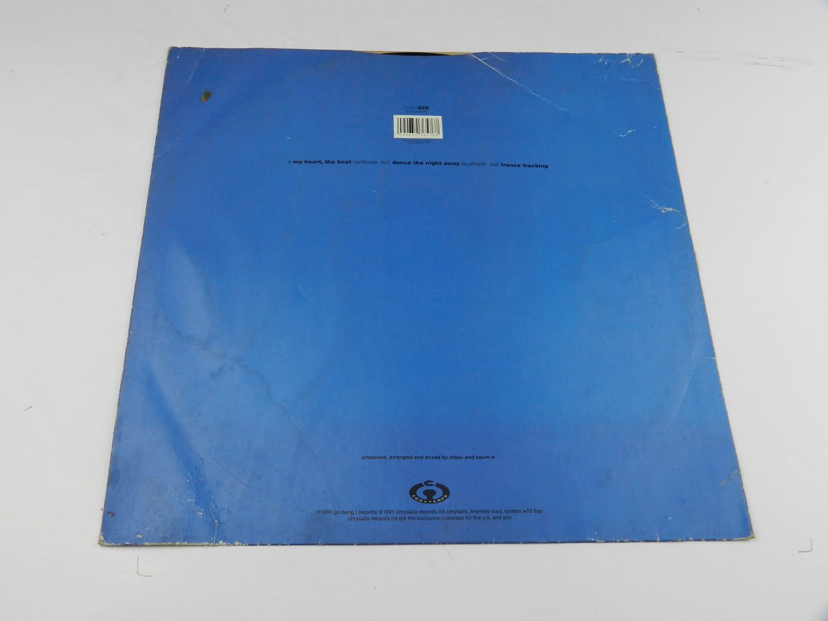 D Shake – My Heart The Beat Dance The Night Away vinyl record sleeve rear scaled