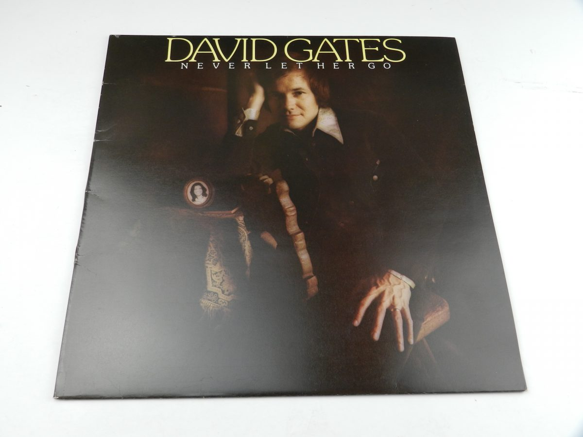 David Gates – Never Let Her Go vinyl record sleeve scaled
