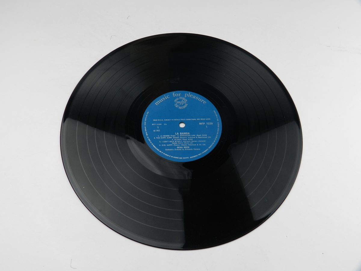 Dean Reed – La Bamba vinyl record side A scaled