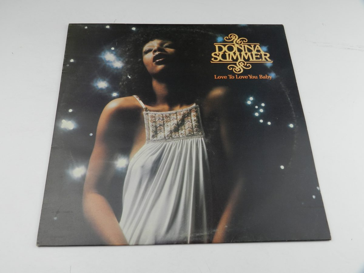 Donna Summer – Love To Love You Baby vinyl record sleeve scaled