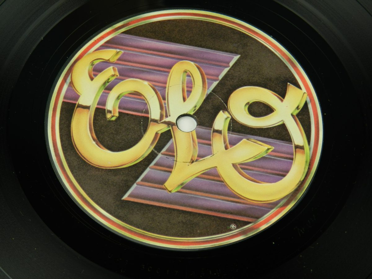 Electric Light Orchestra – A New World Record vinyl record side A label scaled