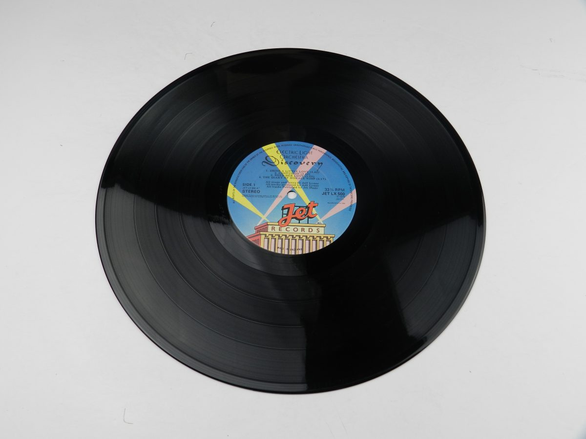 Electric Light Orchestra – Discovery vinyl record side A scaled