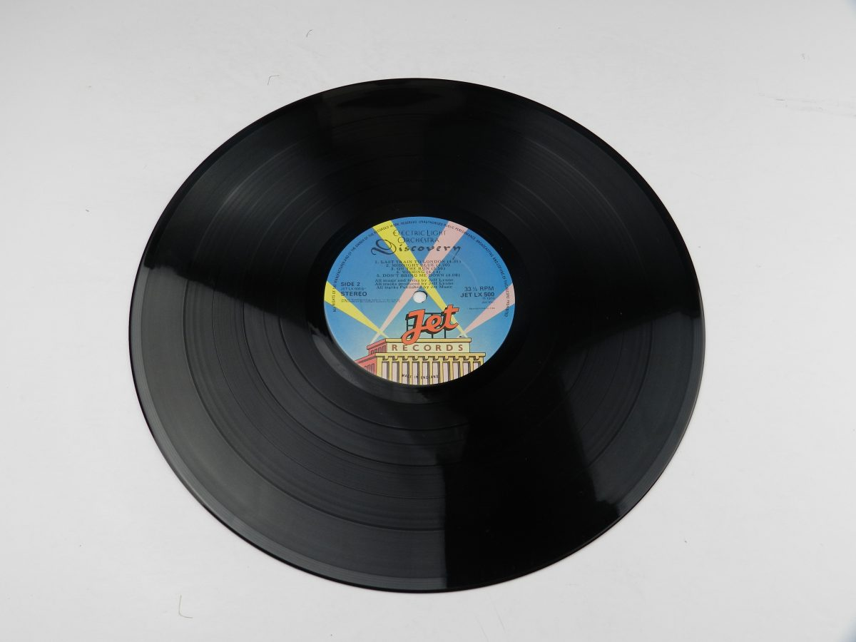 Electric Light Orchestra – Discovery vinyl record side B scaled
