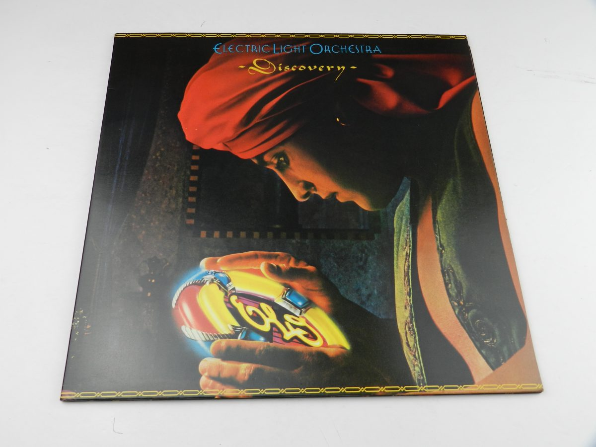 Electric Light Orchestra – Discovery vinyl record sleeve scaled