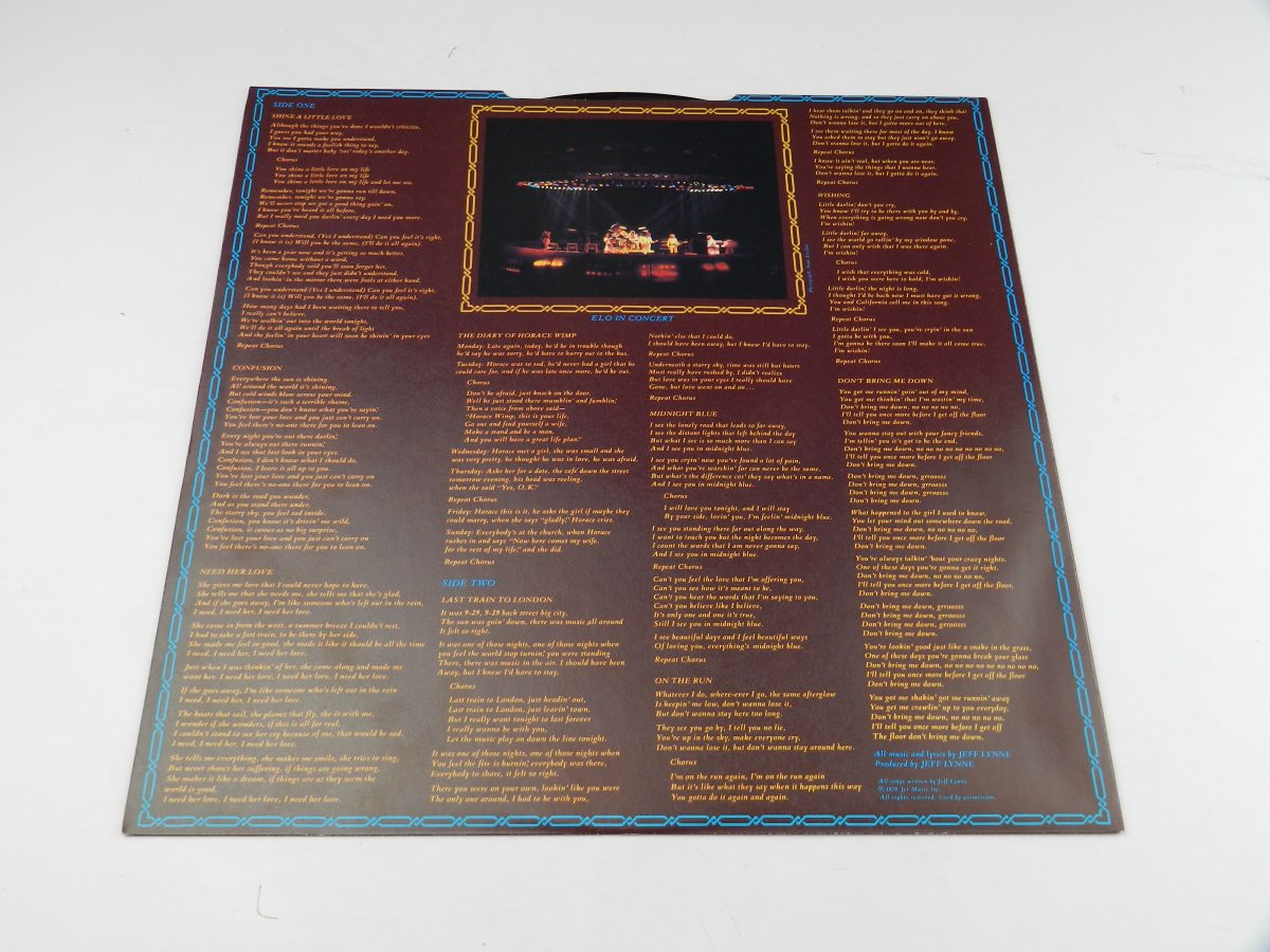 Electric Light Orchestra – Discovery vinyl record sleeve inner 2 scaled