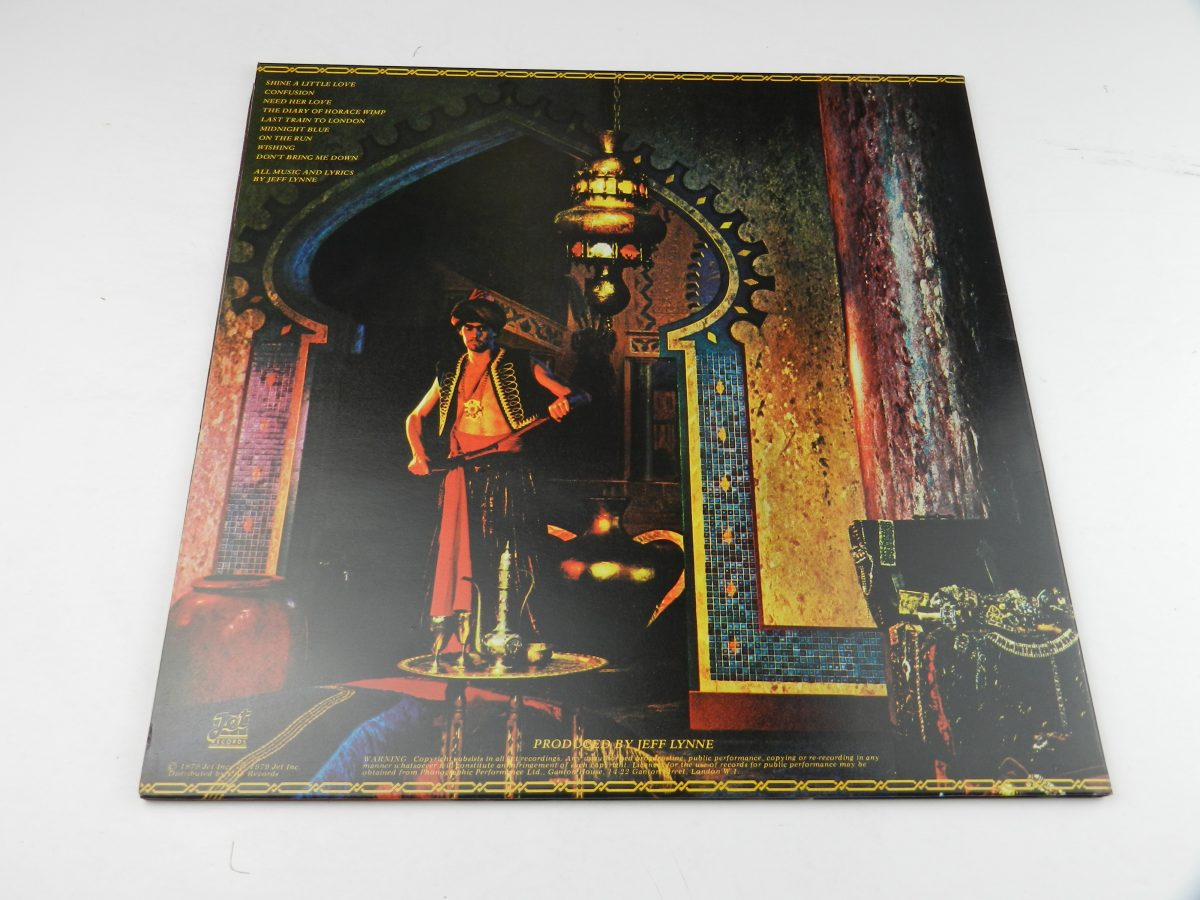 Electric Light Orchestra – Discovery vinyl record sleeve rear scaled
