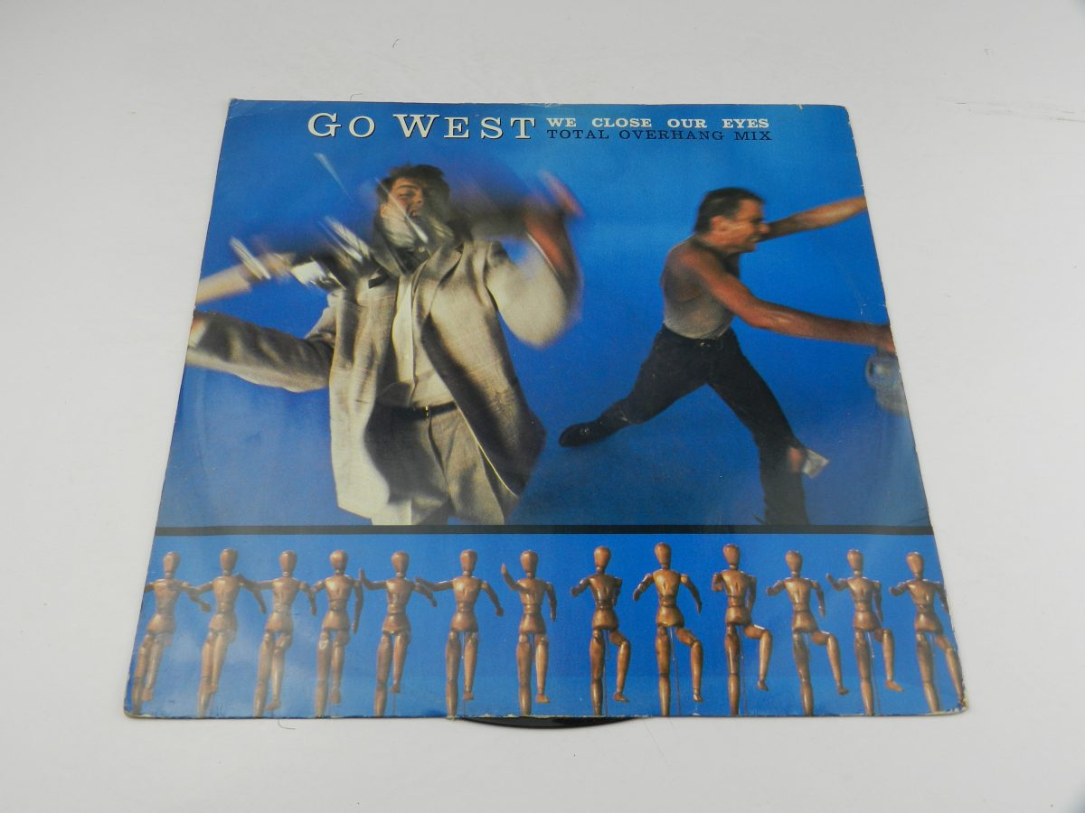 Go West – We Close Our Eyes Total Overhang Mix vinyl record sleeve scaled